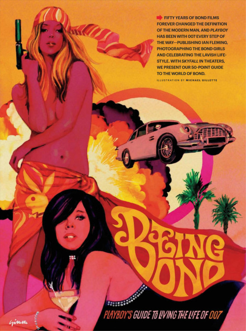 Being Bond - Playboy's Guide to Living the Life of 007 (read 6p pdf on Scribd)