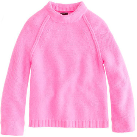 the coziest, happiest sweater ever: J.Crew's cashmere funnelneck love this silhouette—would look great with leather leggings and pointy-toed pumps