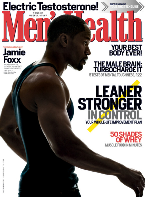 Fit Okay, so while I'm in the mood for mainstream… Men's Health covers are, for the most part, pretty dull… Déjà vu-doo, anyone? But I'm loving the photography and restrained cover lines on the US edition's December 2012 cover. (I wonder if this is the subscriber cover?)
