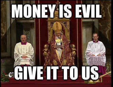 Money is evil