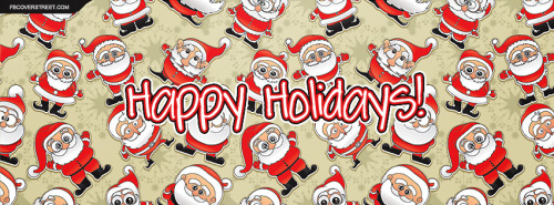 Santa Claus Facebook Covers