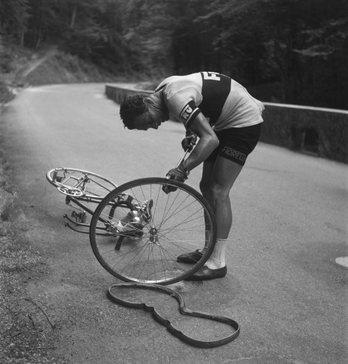 Flat tire, cycling, bike porn