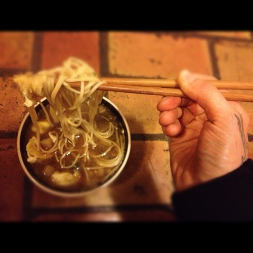 Ima eat you #nomz #ramen #soup #eat  (at Eternaldeathspiralofdoom)