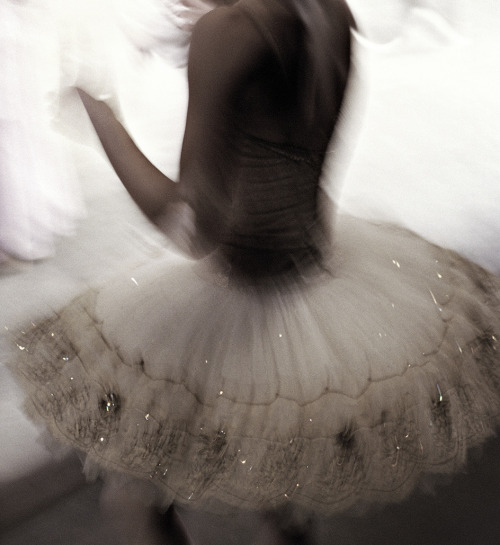 Behind the Curtain at the New York City Ballet photographed by Henry Leutwyler
