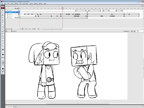 I'M ANIMATING A DERPCRAFT SHORT (It's not Derpcraft 2).  COMING SOON YA BIG BABOON.