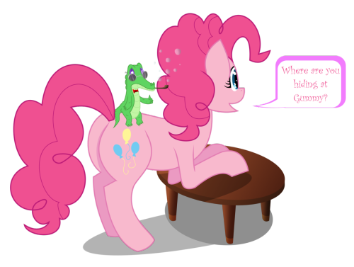 Have some pinkie pie and gummy…