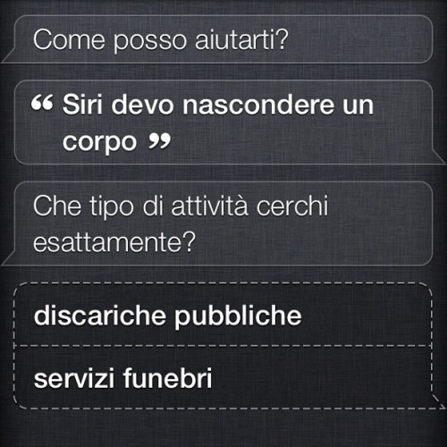 No Fucking Way #Siri