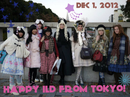 kuuvalgus:  mademoiselle-iona:  solarflight:  The Tokyo International Lolitas celebrated International Lolita Day with a trip to the museum! Have a happy loliday!  Yaaaaaaay!!  ♥♥♥♥♥♥♥♥♥