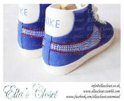more pics of our Team GB kicks!! get yours customised in anyway you like, contact us at info@ellascloset.co.uk and dont forget to check us out on etsy   http://www.etsy.com/shop/EllasClosetCustomise