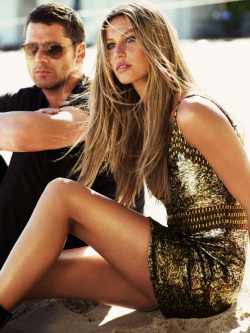 fallforfashion:  FALL FOR FASHION  Eric Bana and Gisele Bundchen