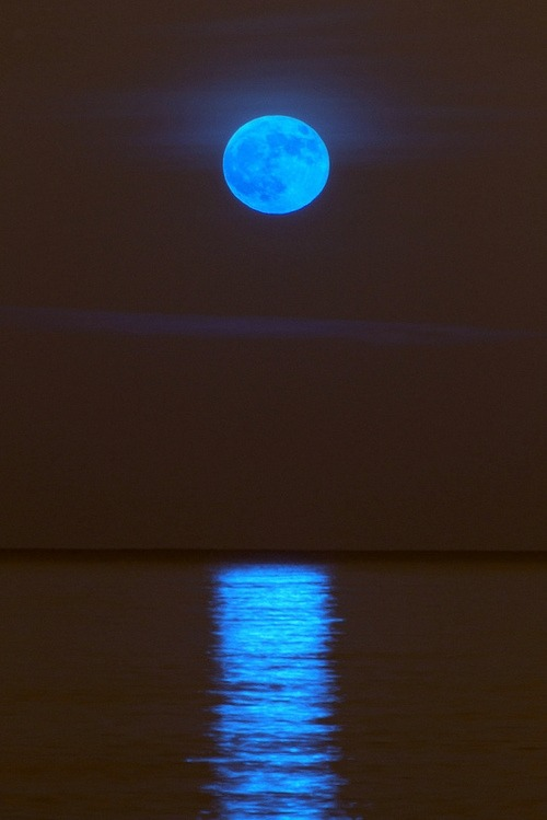 marshmallowanchor:  Blue moon xx