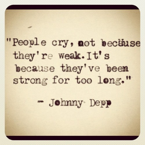 synysterslilmissharlot:  #quoteoftheday #quote #johnnydepp love this quote <3