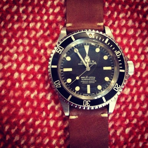 Vintage Submariner 5512 just arrived for sale at the @pop_up_flea!