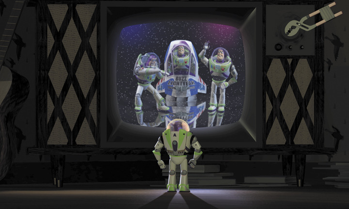 "disneypixar:  Buzz Lightyear, ""Toy Story,"" 1995."