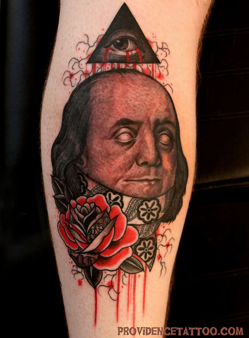 fuckyeahtattoos:  Done by Dennis at Providence Tattoo