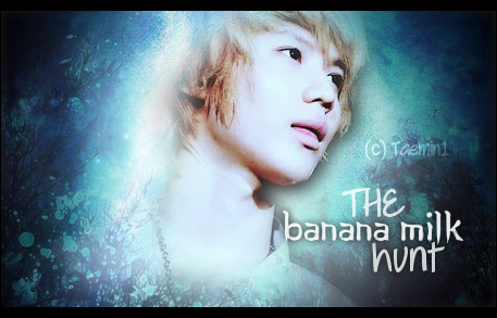 The banana milk hunt - shinee taemin you - main story image