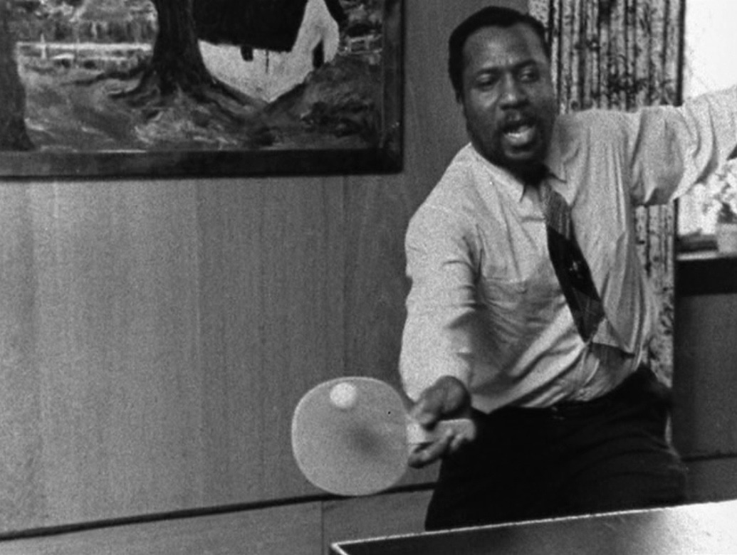 musician-photos:  Thelonious Monk kicking ass at ping-pong.