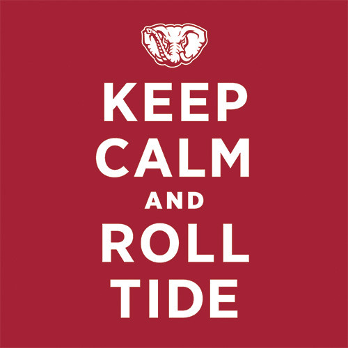 go teach the bulldogs to behave! GIVE 'EM HELL ALABAMA!