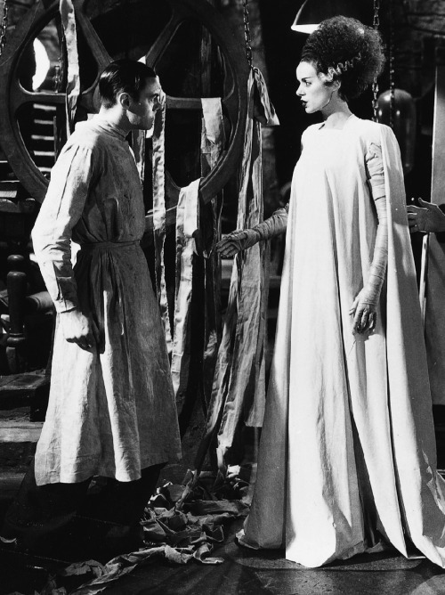 arcaneimages:  Bride of Frankenstein