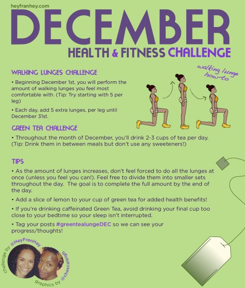 soleiriee:  Doing this for my December Weight Lose Challenge I got going on with @WIFEYTYPE_25