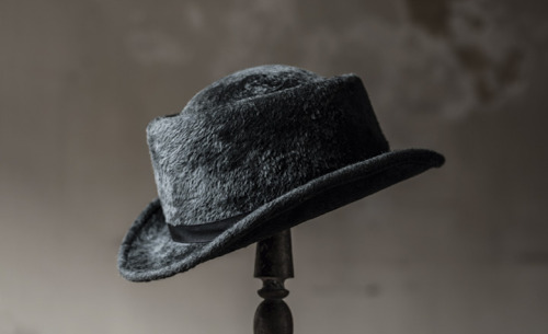 Gris Uchiyama, Men's Autumn and Winter fur felt hat