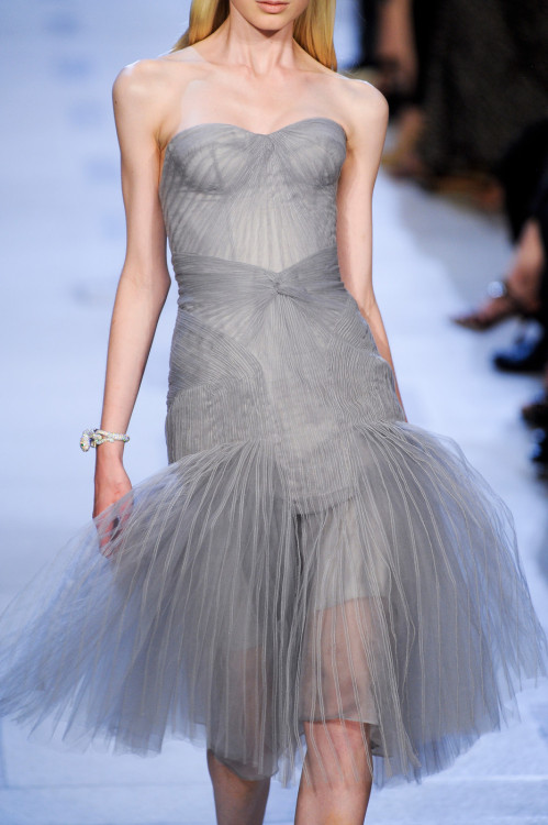 girlannachronism:  Zac Posen spring 2013 ready-to-wear details