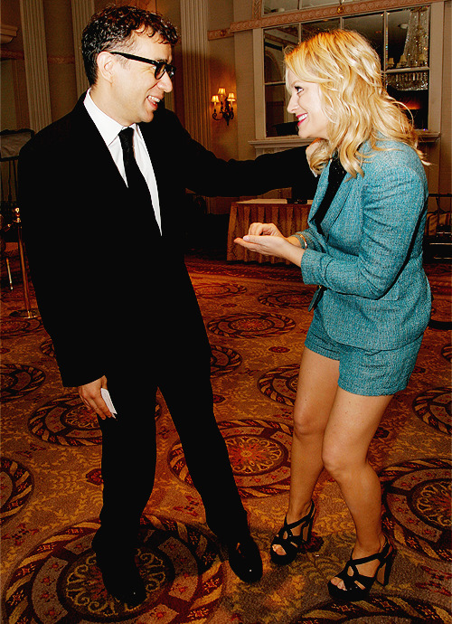 Amy Poehler and Fred Armisen - 71st Annual Peabody Awards, May 21, 2012