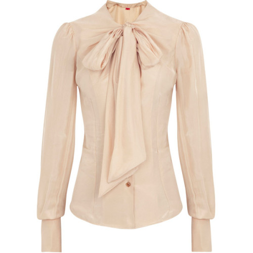 Vivienne Westwood Red Label blouse   ❤ liked on Polyvore (see more silk tops)