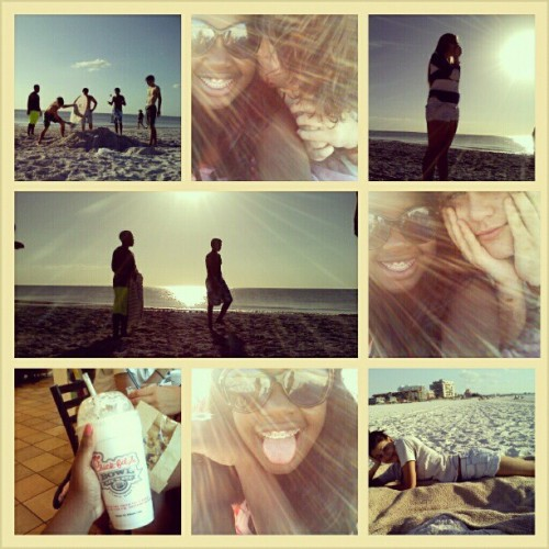 beach with my favorites.
