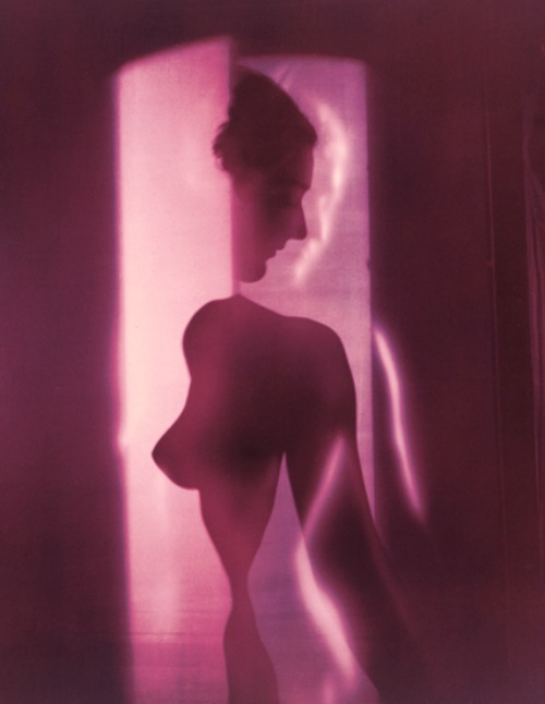 Cubistic Purple Nude, New York by Erwin Blumenfeld, 1949Also
