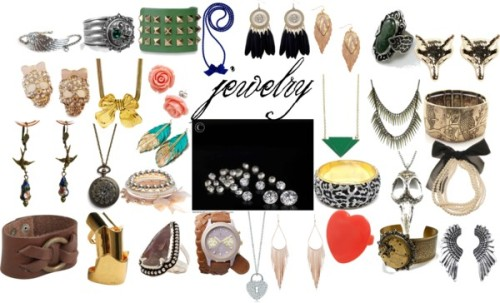 Dream Wardrobe-jewelry by andii-ns featuring boho jewelry
