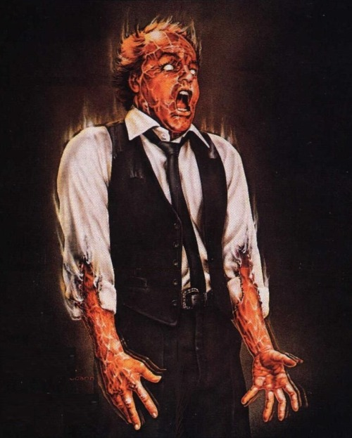 magrittee:  Poster for David Cronenberg's Scanners (1981)