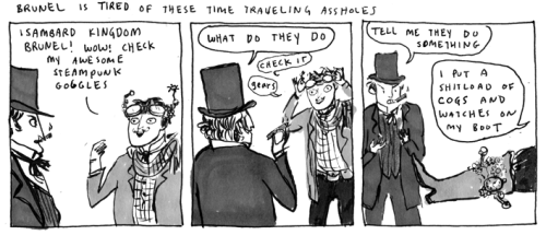 Busy as all hell. My apologies. Kate Beaton is flawless, as always.   Hark! A Vagrant