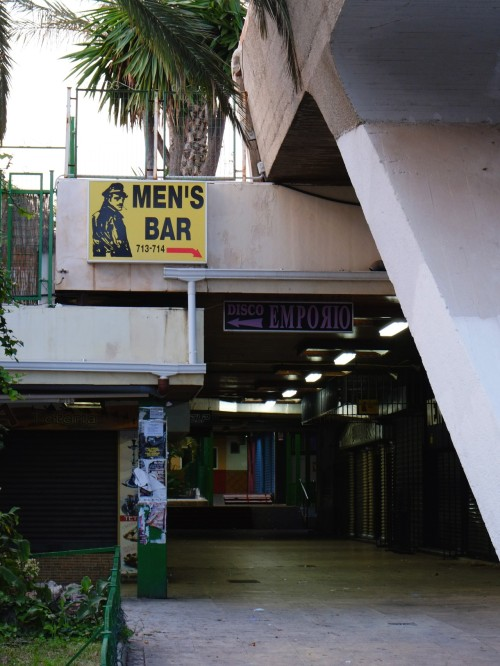 Men's bar. Torremolinos, November 2012.