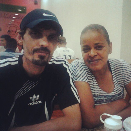 Mamy e Papito rs :) (at Ki Massa)