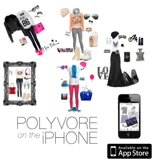 Polyvore on the Iphone everyday… by crazyguera12 featuring tech accessoriesTech accessory / Tech accessory / Available on the App Store / Polyvore / Polyvore / Polyvore / Polyvore / Polyvore