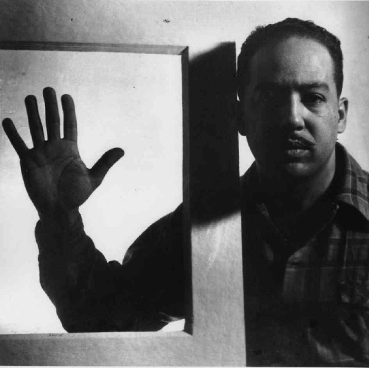 Langston Hughes by Gordon Parks
