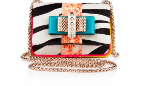 Hot handbag alert! Check out Christian Louboutin's Sweety Charity No Limit shoulder bag, now in stores.
