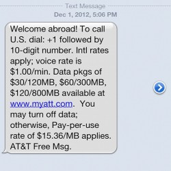Wtf AT&T I'm not in Canada. Errrrrrrmaaaagaaaaahhhdd. @&$! 😡 (at Best Chopsticks)