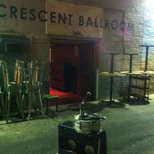 #destructionunit  (at Crescent Ballroom)