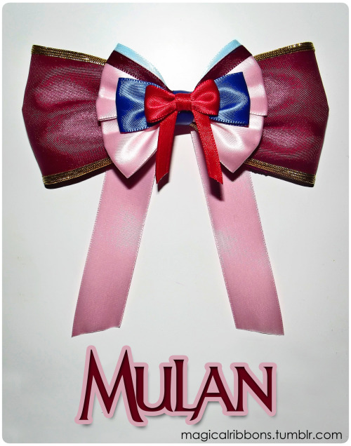 magicalribbons:  Magical Ribbons - Mulan  This is the greatest thing ever!