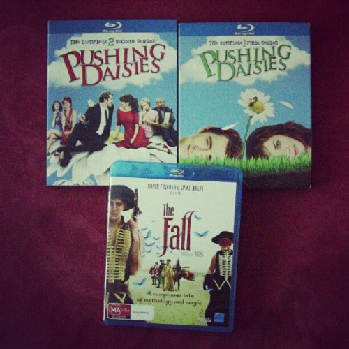 I like my Lee Pace in HD.  [The Fall blu-ray for $10] [Pushing Daisies S01 blu-ray for $19] [Pushing Daisies S02 blu-ray for $19]