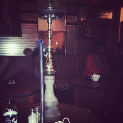 Hookah with my bitch @hippiejay_ <333