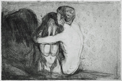 Edvard Munch, Consolation
