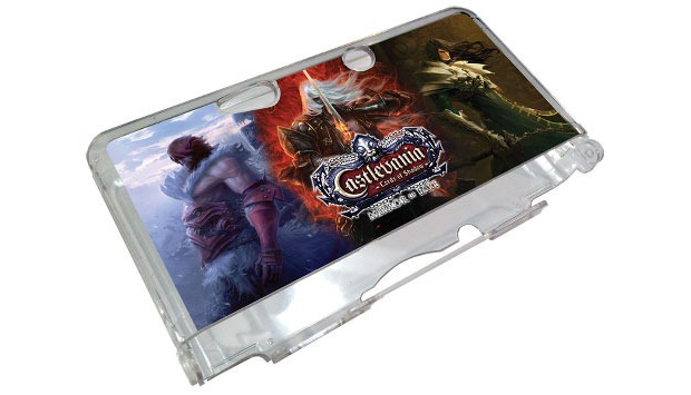 Castlevania: Mirror of Fate 3DS case Preorder the game at GameStop and you'll get one of these to decorate and protect your (original style) 3DS. The game will be out… man, sometime in 2013? Hopefully? Right now Gamestop says March 1, but that's almost certainly a placeholder. PREORDER  Castlevania: Mirror of Fate