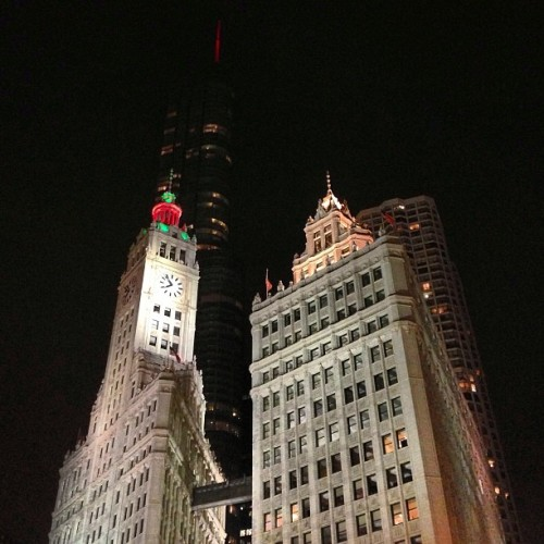 It's beginning to look a lot like Christmas. #TribDecember #instagram312 #chitribinstagram