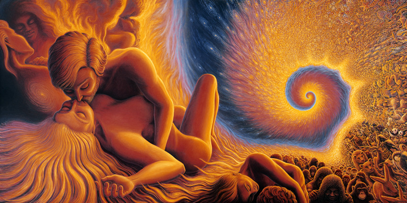 weofsundome:  Spiral Genesis by Mark Henson