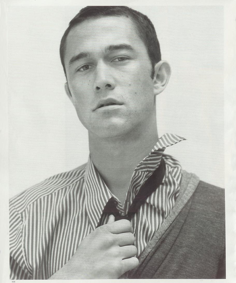 suicideblonde:  Joseph Gordon Levitt photographed by Jean Baptiste Mondino for New York Times Style Magazine, 2007
