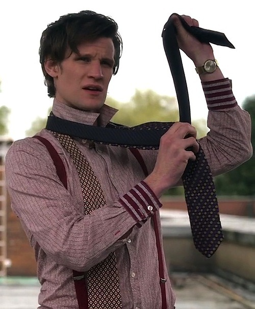 eleventh doctor suspenders