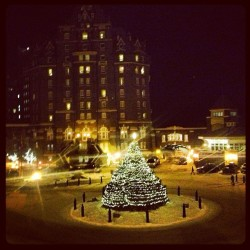 Feels like Christmas here in Banff (at The Fairmont Banff Springs Hotel)